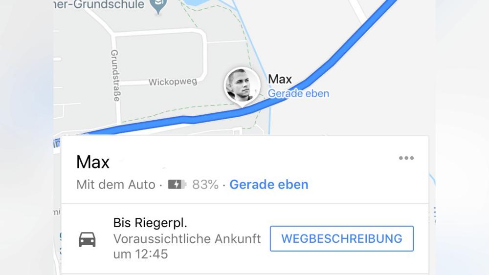 live-route in google maps teilen – planetradio.de on